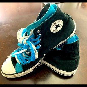 All stars converse two colors size 11